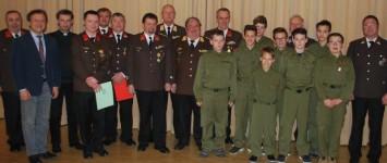 Gruppenfoto Mit Geehrten Jugend Neuen Kommando